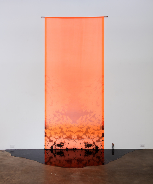 , 'The Black Lake I,' 2015, Erin Cluley Gallery