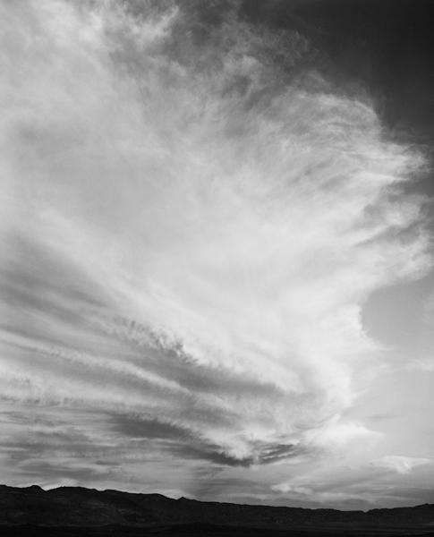 Chip Hooper, 'Clouds, Death Valley', 1999, Photography, Silver print, Robert Mann Gallery