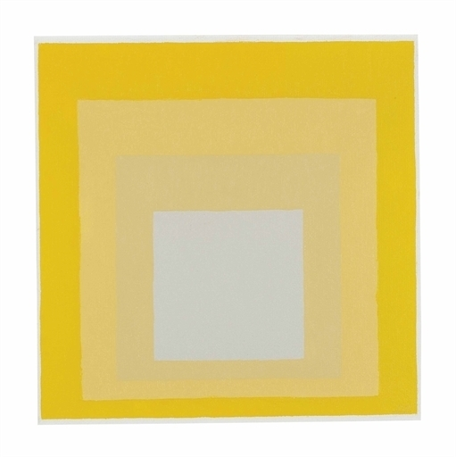 Josef Albers, 'Study for Homage to the Square: Darker Plays Lighter ', Christie's