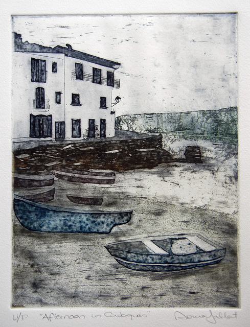 Sonia Gallart, 'Afternoon in Cadaques', Open Bite Printmakers