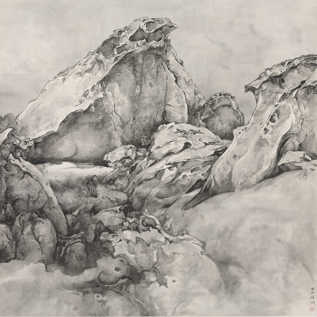 , 'The Edge of the Planet Ⅱ,' 2013, Fu Qiumeng Fine Art