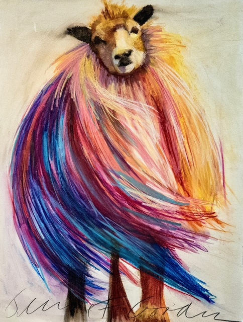 , 'Windy Sheep,' 2018, Carter Burden Gallery