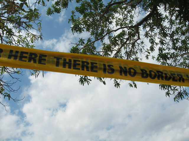, 'There Is No Border Here,' 2005-2006, The Gujral Foundation