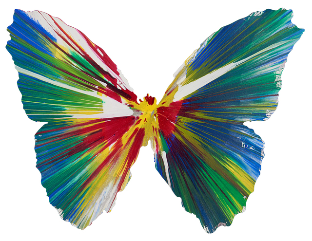 Damien Hirst, 'Butterfly Spin Painting (Created at Damien Hirst Spin Workshop)', 2009, Rago