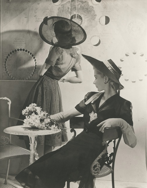 , 'Summer Hats - Fonssagrives and Lane,' 1940, Vogue Archives