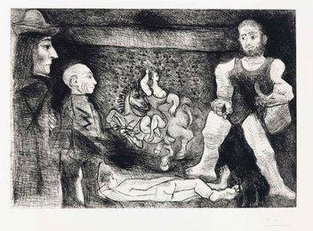 Picasso, son oeuvre, et son public, from La Série 347