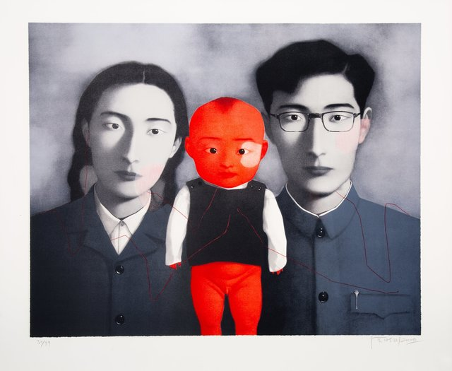 Zhang Xiaogang, 'Untitled, from Bloodline: Big Family', 2006, Heritage Auctions