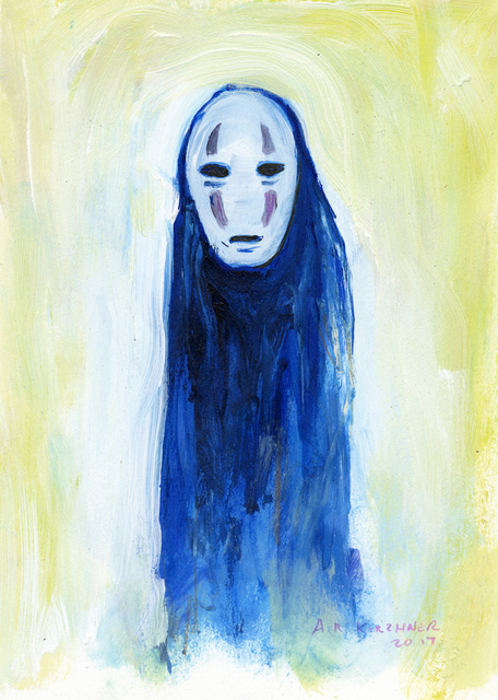 , 'No Face,' 2017, Spoke Art