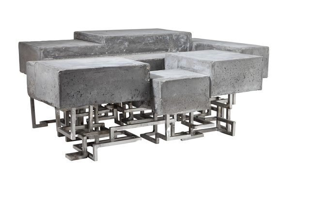 Benjamin Rollins Caldwell, 'Concractions Low Table', 2010