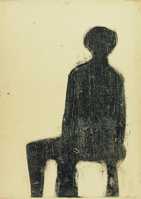 , 'Man,' 1957, Galerie Isabella Czarnowska