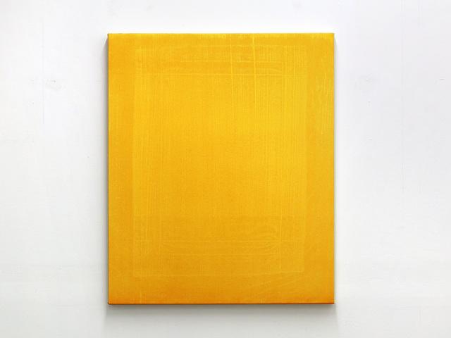 , 'Untitled (yellow),' 2016, Galerie Antoine Ertaskiran