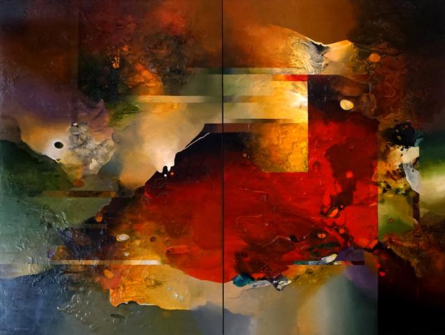 , 'California Dreaming (Diptych),' 2015, Avran Fine Art
