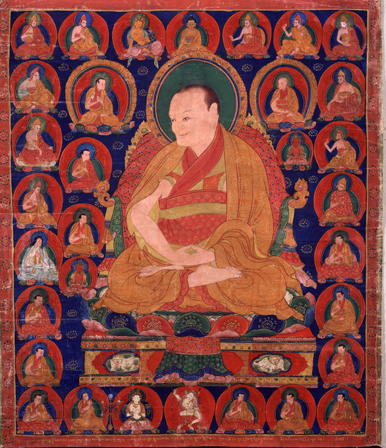 , 'Tibetan Teacher, Buddhashri Sanggye Pal (1339 - 1419),' ca. 1515–1535, Rubin Museum of Art