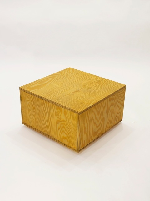 , 'Cube Table Ply,' 2010, Patrick Parrish Gallery