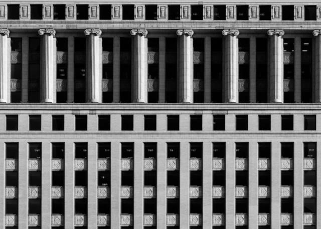 , 'Builders Building North Loggia,' , Chicago Art Source