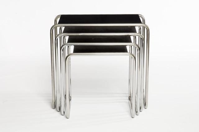 , 'Tables gigognes,' 1928, Les Arts Décoratifs