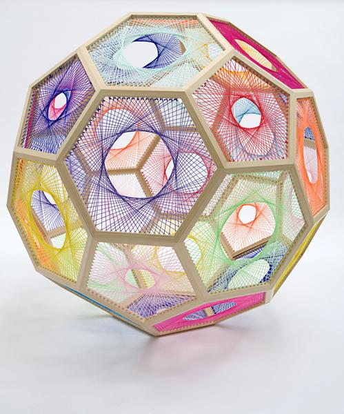 Nike Savvas, 'Sliding Ladder: Truncated Icosahedron', 2010, Dominik Mersch Gallery