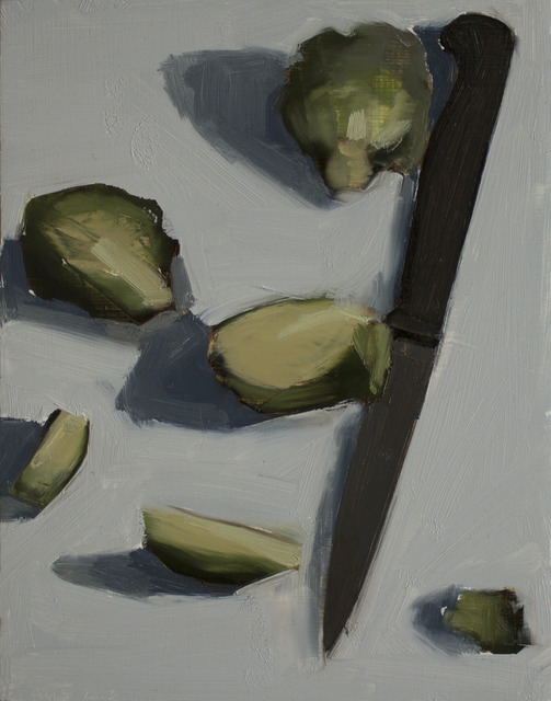 , 'Brussle Sprouts and Knife,' , March