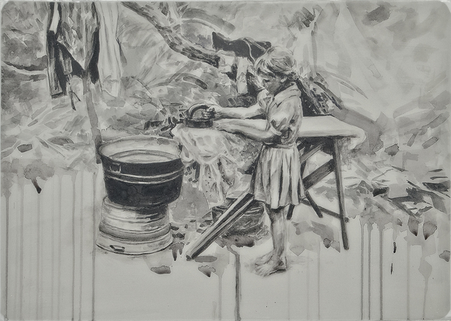 , 'Ironing 2/3,' , Gail Severn Gallery