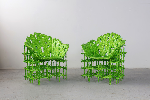 , 'Alufoil Shell Chairs,' 2016, Friedman Benda