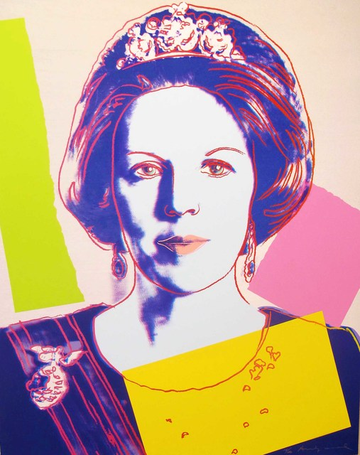 Andy Warhol, 'Queen Beatrix Of The Netherlands [II.340]', 1985, Maddox Gallery