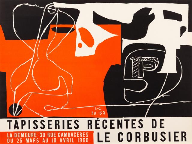 , 'Tapisseries Recentes de Le Corbusier,' 1960, Zuleika Gallery