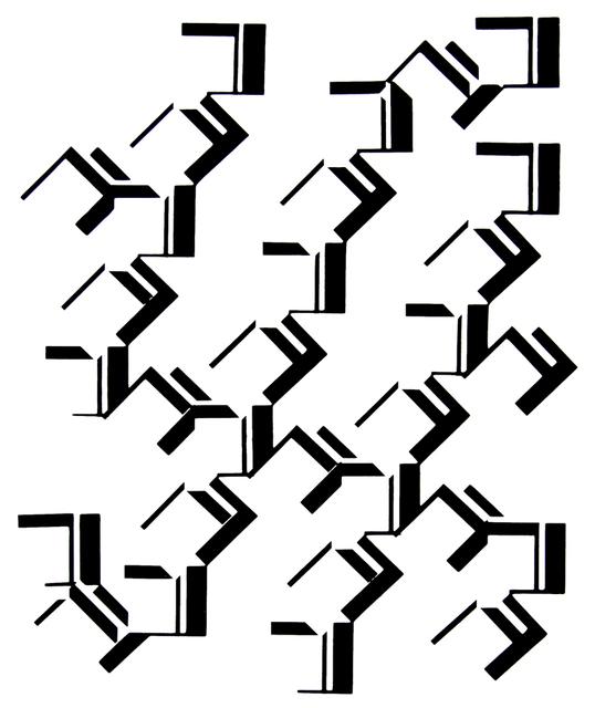 José Oiticica Filho, 'Forma D7', 1958, Galeria Raquel Arnaud