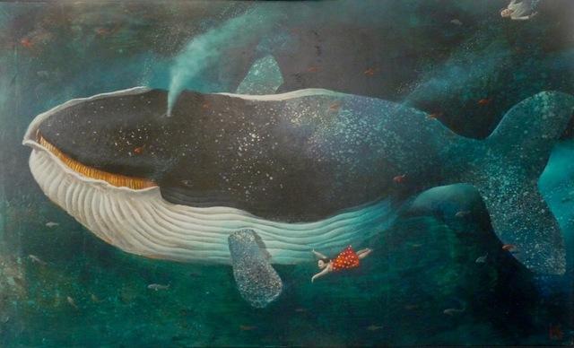 , 'Deep Waters (no. 15),' 2018, Rebecca Hossack Art Gallery