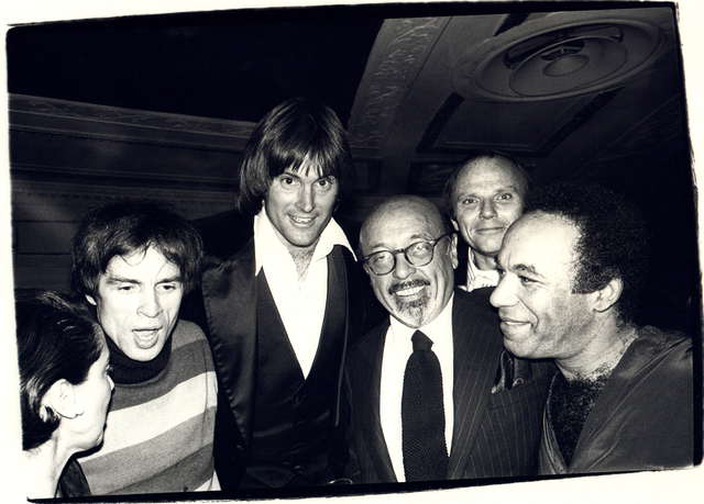 Andy Warhol, 'Andy Warhol Photograph of Rudolf Nureyev, Bruce Jenner, and Ahmet Ertegun, 1979', 1979, Hedges Projects