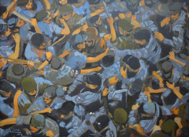 Khaled Hourani, 'Breaking', 2019, Zawyeh Gallery