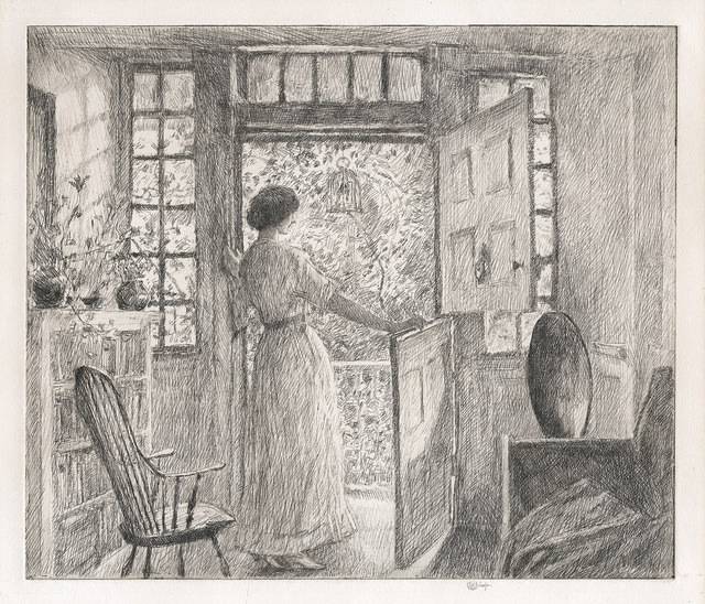 , 'The Dutch Door.,' 1915, The Old Print Shop, Inc.