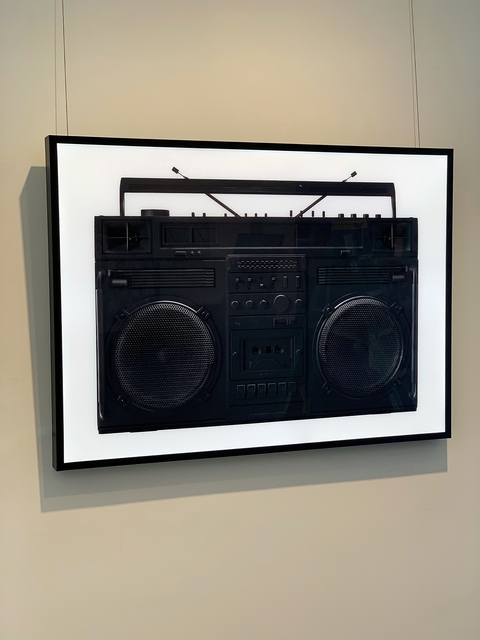 Lyle Owerko, 'Boombox Lightbox (Black)', 2019, Art Angels