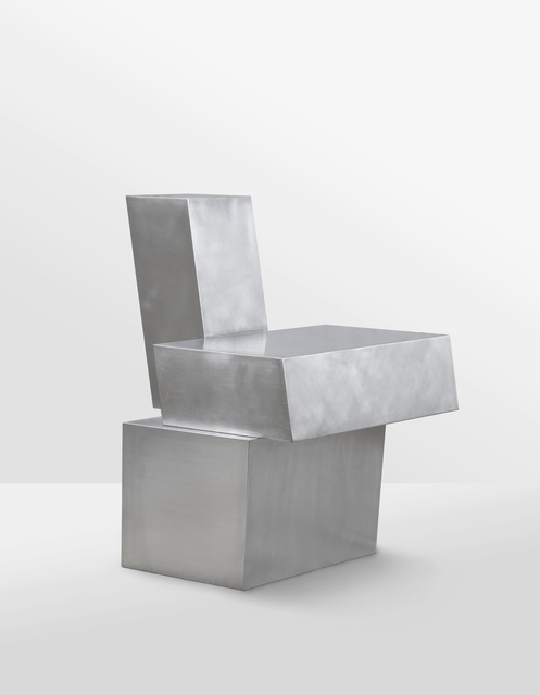 , 'Layered-steel_chair,' 2018, g.gallery