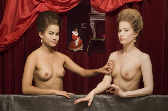, 'Ode to the Pinching D'Estrées Sisters,' 2011, Jonathan Ferrara Gallery
