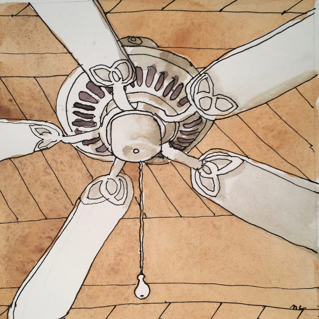 , 'Ceiling Fan,' 2017, Clyde Hogan Fine Art