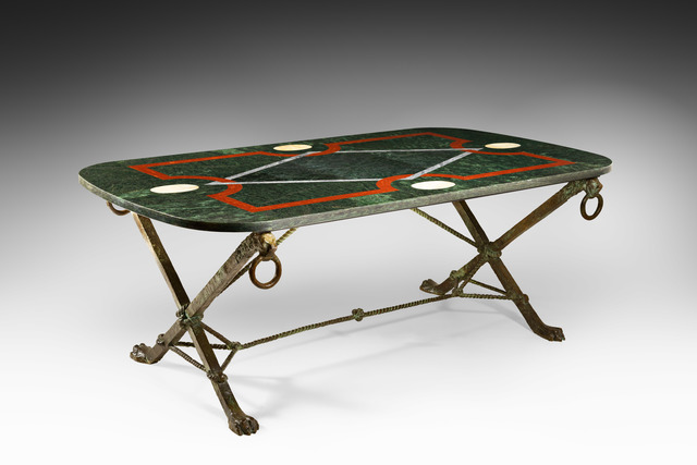 , 'Very rare and important table,' ca. 1964, Galerie Chastel-Maréchal
