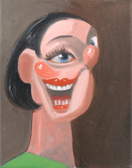 , 'Smiling Portrait,' 2005, Museum Dhondt-Dhaenens