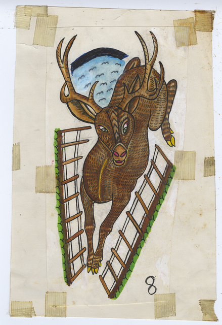 , 'Untitled (Stag),' ca. 1950, Ricco/Maresca Gallery