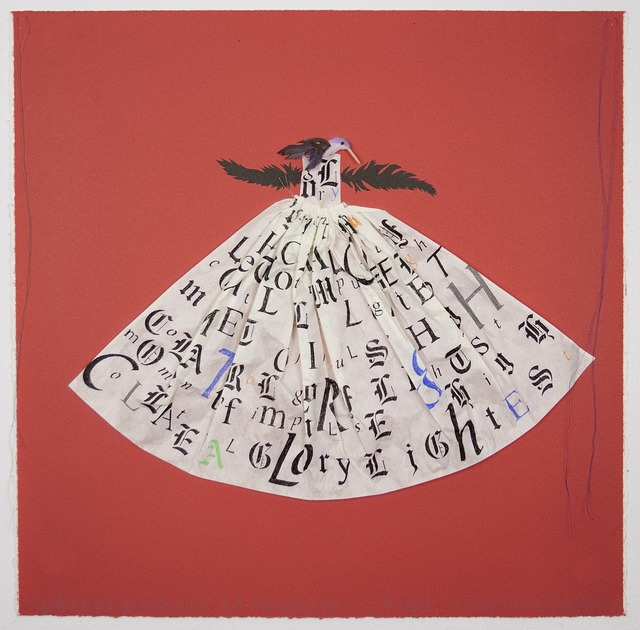 , 'Hummingbird Dress: Red,' 2013, Tamarind Institute