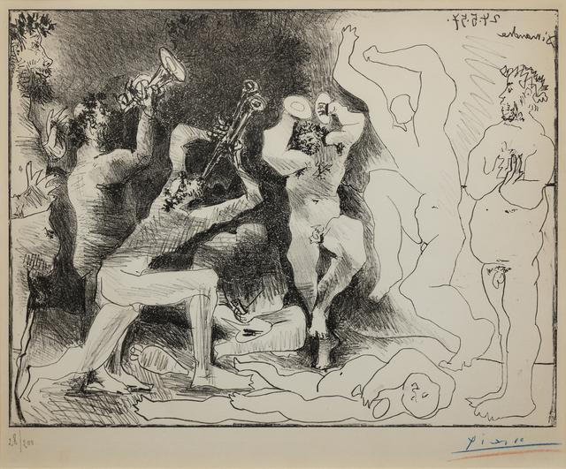 Pablo Picasso, 'La Danse des Faunes', 1957, Print, Lithograph, Hindman