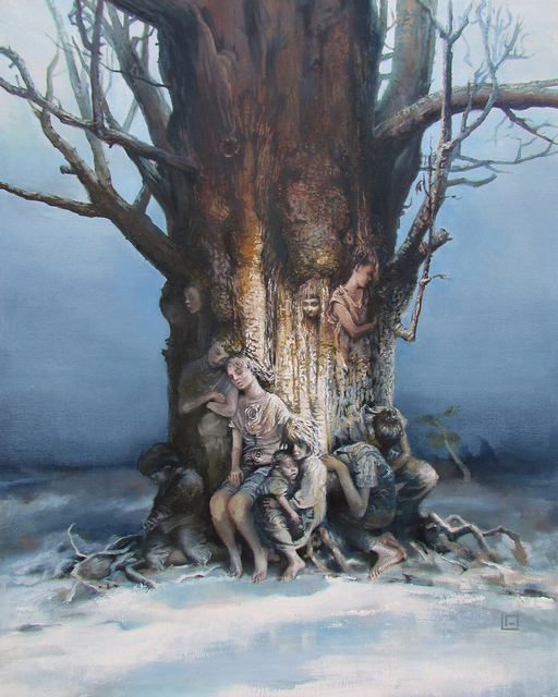 , 'Tree of Splintered Dreams,' 2015, IX Gallery