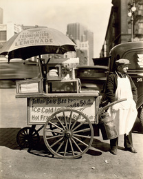 Hot Dog Stand, West Street and North Moore Streets, Manhattan