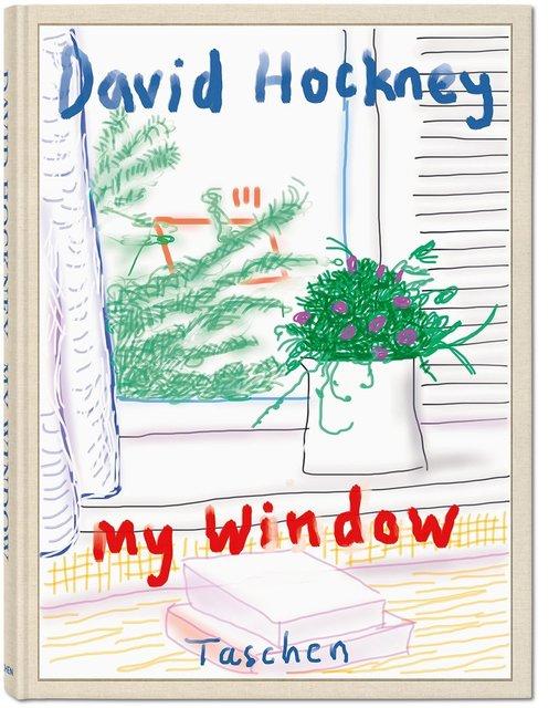 David Hockney, 'David Hockney. My Window', 2019, Books and Portfolios, Hardcover, numbered and signed by David Hockney, 248 pages, TASCHEN