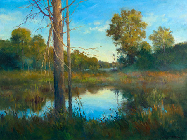 , 'CLEAR MORNING ON THE MARSH,' 2015, Jerald Melberg Gallery