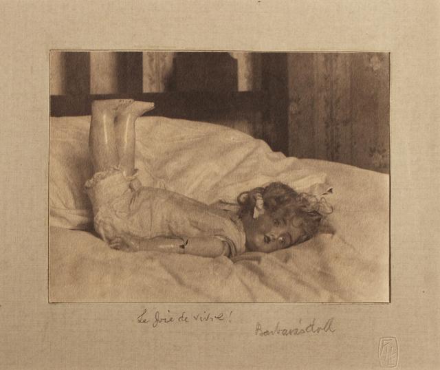 ", '""La Joie de Vivre! Barbara's Doll"",' c.1900's, Robert Mann Gallery"