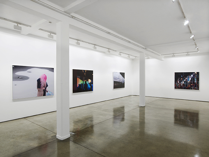 HANNAH STARKEY exhibition view Maureen Paley, London 2016