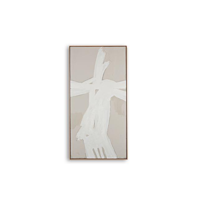 , 'ETHNOGRAFICO BLANC II,' , Exhibit by Aberson