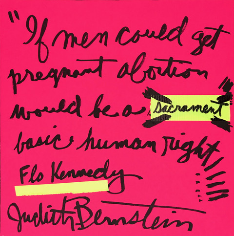 Judith Bernstein, 'Abortion Is Normal', 2019, Painting, Acrylic on Canvas, Downtown for Democracy