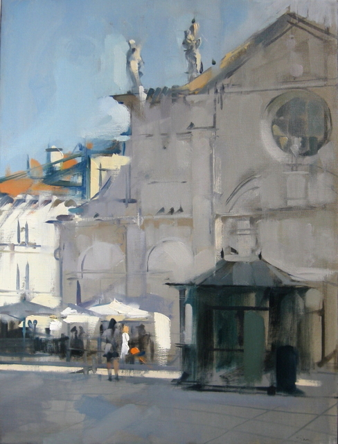 , 'Santa Maria Formosa Newstand,' 2011, Susan Calloway Fine Arts