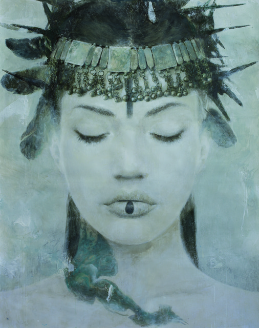 , 'Goddesses of Nibiru II,' 2014, Miguel Marcos